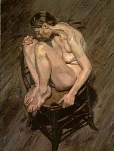 Lucian Freud, Naked girl
